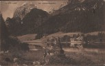 AK Hintersee bei Bertesgaden Ramsau Wanderer Hotel 1910