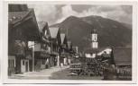 AK Foto Garmisch-Partenkirchen Sonnenstraße gegen Wank 1940