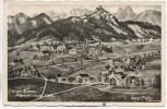 Künstler-AK Sepp Sichler Widmar-Rossmoos Weißensee b. Füssen 1941