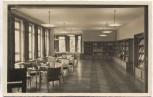 AK Grenzakademie Sankelmark Bibliothek und Tagesraum bei Oeversee 1940