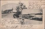 AK Gruss aus Krefeld Waldschenke im Stadtwald 1903