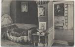 AK Weimar Schlafzimmer der Herzogin im Wittums-Palais 1920