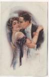 Künstler-AK Liebespaar umarmend Luis Usabal ERKAL Nr. 357/6 1920