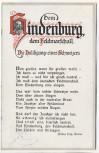 AK Gedicht Dem Hindenburg, dem Feldmarschall Die Huldigung eines Schweizers Arthur Frey, Aarau 1916