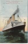 AK S.S. Imperator Hamburg-American Line Das größte Schiff der Welt 1914