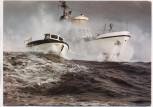 AK Foto Seenotkreuzer Ruhr-Stahl mit Tochterboot Tünnes