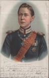 Präge Litho Friedrich Wilhelm Kronprinz des Deutschen Reiches u. von Preussen 1903