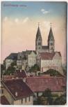 AK Quedlinburg Schloss mit Häusern 1912