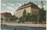 AK Kiel Königl. Schloss Soldatenkarte 1910