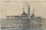 AK Deutsches Kriegsschiff SMS Westfalen 1910