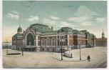 VERKAUFT !!! AK Kiel Bahnhof Soldatenkarte 1911