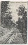 AK Königswinter Drachenburg mit Zahnradbahn Soldatenkarte 1910