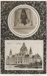 AK Foto Hannover Neues Rathaus 2 Frauen aus Fenster schauend 1910