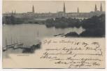 AK Gruß aus Hamburg Lombardsbrücke 1897