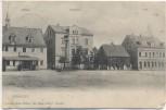 AK Brandis Rathaus Stadthaus Post Hotel Ratskeller Soldatenkarte 1910