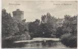 AK Wilhelmshaven Partie mit Wasserturm Soldatenkarte 1906
