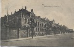 AK Riesa Pionier-Kaserne Kirchbachstrasse 1910