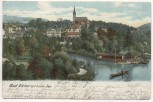 AK Bad Elster mit Luisa-See 1908