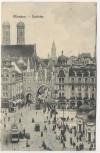 AK München Karlstor viele Menschen 1911