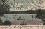 AK Krefeld Crefeld Weiher im Stadtwald 1903
