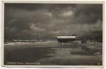 AK Foto Ostseebad Prerow Stürmischer Tag Strand Darß Fischland 1934