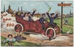AK Reserve hat noch ... Tage Soldaten mit Frauen Auto Soldatenkarte 1911