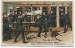 AK Parole Heimat Soldaten auf Reserve Soldatenkarte 1911