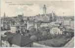 AK Leipzig Neues Rathaus von der Wächterstrasse gesehen 1905
