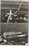 AK Billenhausen Pfarrkirche u. Schule b. Krumbach Schwaben 1960