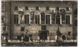 AK Foto Passau Gemälde an der Rathausfassade 1940