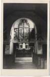 AK Foto Lützen Interieur der Gustav-Adolf-Kapelle 1958