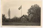 AK Foto Lützen Schwedisches Blockhaus bei der Gustav-Adolf-Kapelle 1958