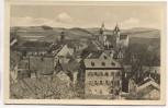 AK Schwarzenberg Erzgebirge Blick auf St. Georgenkirche und Schloß 1955