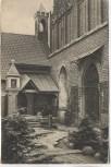 AK Die Marienburg Eingang zur St. Annen Kapelle Malbork Westpreußen Polen 1920