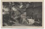 AK Zittau An der Burgmühle Sächsische Heimatschutz-Postkarte 1920