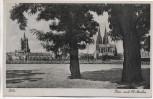 AK Köln Dom und St. Martin Stempel 2.Kriegs-WHW 1941
