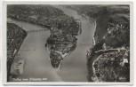 AK Foto Passau vom Flugzeug aus Fliegeraufnahme 1938