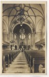 AK Dresden Striesen Inneres der Versöhnungskirche Schandauer Straße 1933 RAR