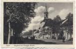 AK Tilsit Rathaus und Deutsche Straße Sowetsk Ostpreußen Russland 1942