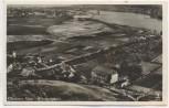 VERKAUFT !!!   AK Glindow Glindower Alpen Fliegeraufnahme bei Werder Havel 1935