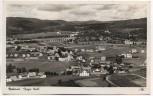 AK Foto Frauenau Bayer. Wald Schloß mit Arbeitsdienstlager Ostmark b. Regen 1938