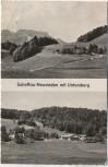 AK Scheffau Neusieden mit Untersberg b. Marktschellenberg Bayern 1955