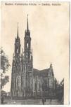 AK Siedlce Katholische Kirche Polen Feldpost 1915