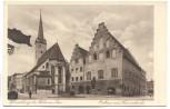 AK Wasserburg am Inn Rathaus und Frauenkirche 1930