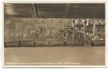 AK Foto Wasserburg am Inn Rathausfestsaal Eingang und Bild Triumph des Salzes 1930