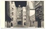 AK Foto Wasserburg am Inn Brucktor bei Nacht 1930