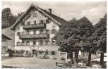 AK Foto Kochel am See Gasthof zur Post 1960