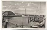 AK Foto Ostseebad Kolberg Hafen mit Booten Kołobrzeg Pommern Polen 1935
