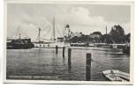 AK Foto Ostseebad Kolberg Hafen mit Lotsenturm und Schiffen Kołobrzeg Pommern Polen 1935