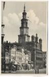 AK Foto Posen Rathaus Poznań Polen Feldpost 1940